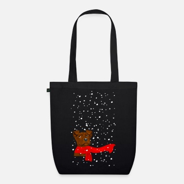 Snow Puppy - EarthPositive Tote Bag