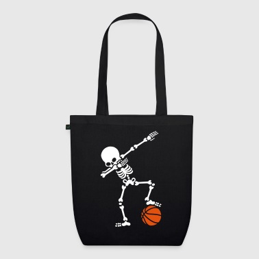 Dab dabbing skeleton football basketball - Bolsa de tela ecológica