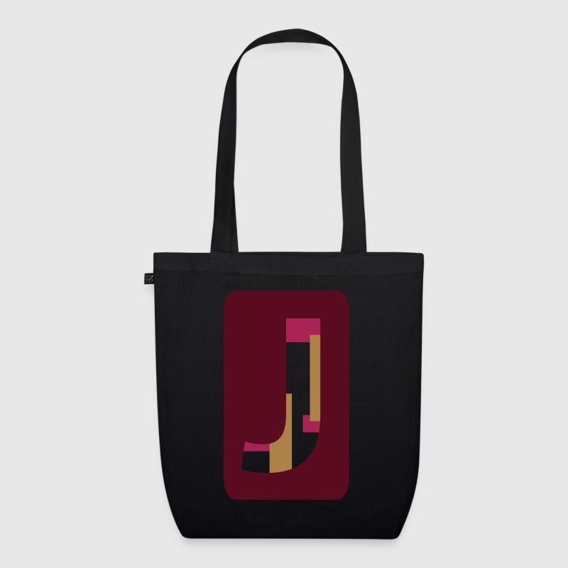 Letter J - EarthPositive Tote Bag