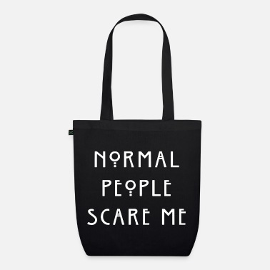 Normal People | white - Bio stoffen tas