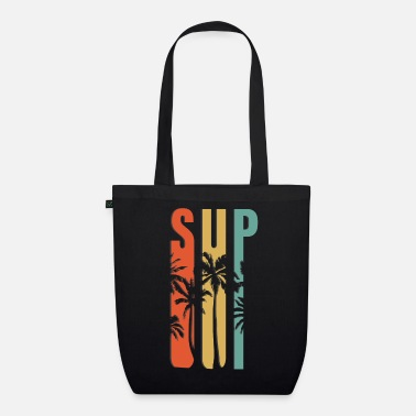 Surfing SUP - Organic Tote Bag