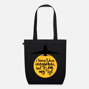 Christmas Haven't Been Everywhere Quote - Organic Tote Bag