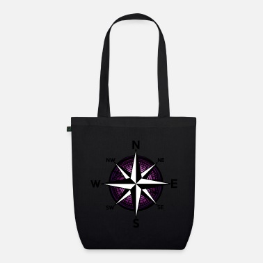 Nautical Ahoy Nautical Compass Windrose Nautical - Organic Tote Bag