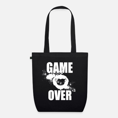Game Over Gamer - Game Over - Økologisk mulepose