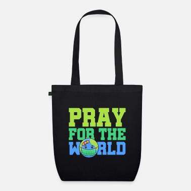 Planet Pray For The Earth World Hope Cohesion - Organic Tote Bag