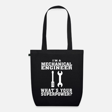 Electricity Bestseller Mechanical Engineer Tshirt, Funny Quote - Organic Tote Bag