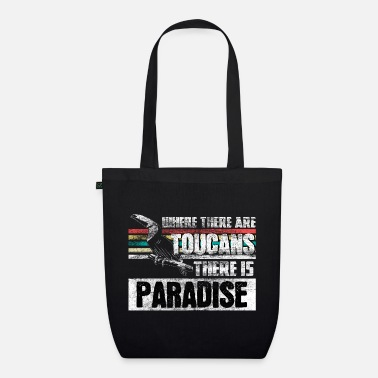 Beak Toucan holiday gift - Organic Tote Bag