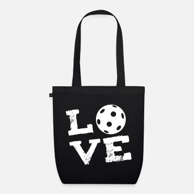 Indoor Hockey LOVE - field hockey Indoor Hockey Floorball - Organic Tote Bag