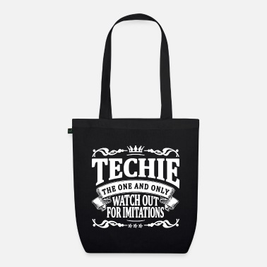 Techie techie the one and only - Organic Tote Bag