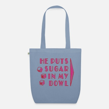 Provocation sugar in bowl - for women - Sac en tissu bio