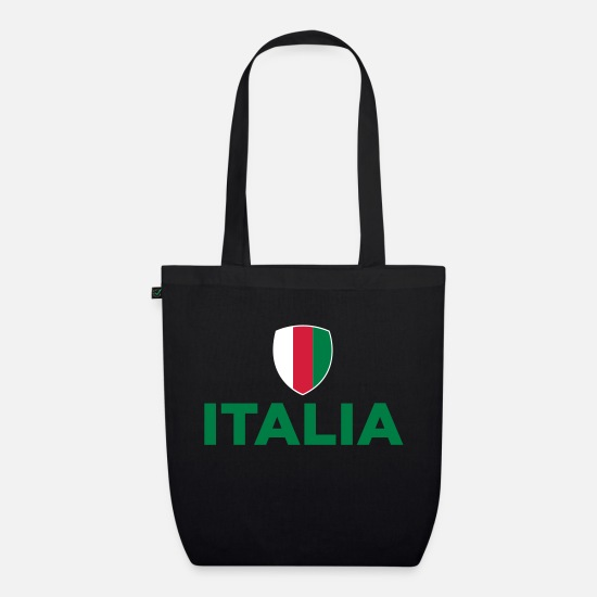 Turin Bags & Backpacks - National flag of Italy - Organic Tote Bag black