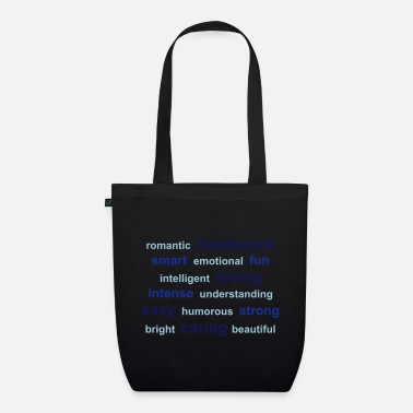 Internet tag cloud - Organic Tote Bag