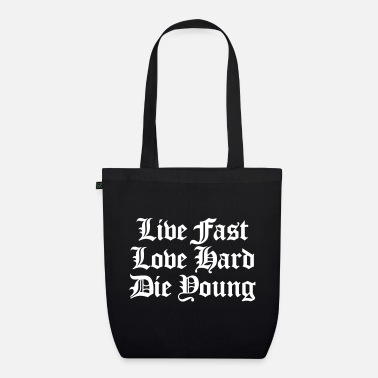 Adventure live fast love hard - Organic Tote Bag