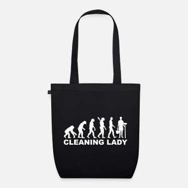 Clean What It Is cleaning woman - Organic Tote Bag
