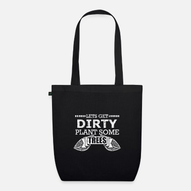 Dirty Couples Dirty trees plants - Organic Tote Bag