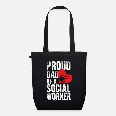 Future School Social Worker Dad Mental Health - Organic Tote Bag