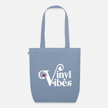 Vinyl Vibes, Record Collectors, Music Lovers - Organic Tote Bag