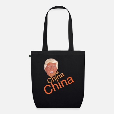 China Donald Trump - China China China - Organic Tote Bag