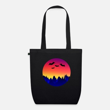 Batting Bat Bat Wing Bats - Organic Tote Bag