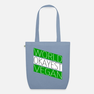 Enviromental fruitarian nature vegan funny enviromental - Organic Tote Bag