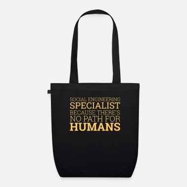 Computer Scientist Social Engineering Specialist | computer - Organic Tote Bag