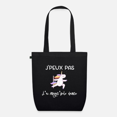 Burlesque I can not do it magic'pole dance - Organic Tote Bag