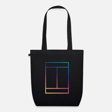 Court tennis court - Organic Tote Bag