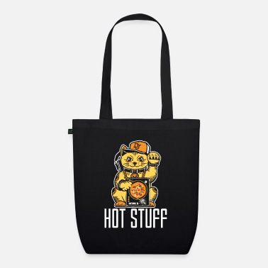 Pizza Hot stuff chat DJ job Chat drôle - Sac en tissu bio