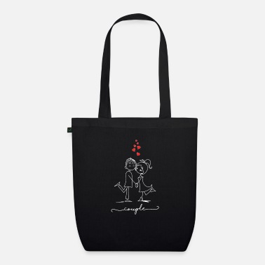 Couple Couple - Couple - Organic Tote Bag