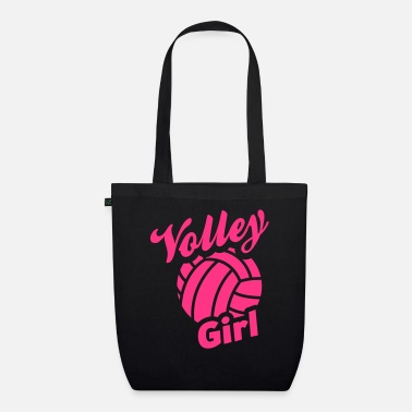 Volley volley girl - Organic Tote Bag