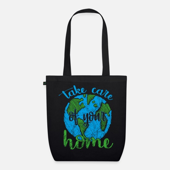 Gift Idea Bags & Backpacks - Earth Day - Earth Day - Organic Tote Bag black
