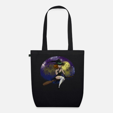 Witch Underwear Sexy Witch Hat Full Moon Witch Witch Hat Witch Broom - Organic Tote Bag
