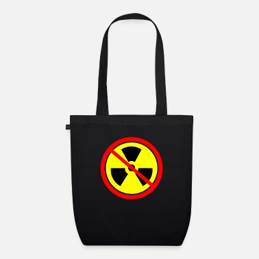 Castor Transport Anti nuclear power Castor nuclear power plants Gorleben demo - Organic Tote Bag