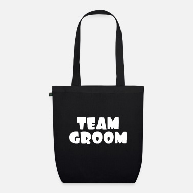 Groom Team groom - Organic Tote Bag