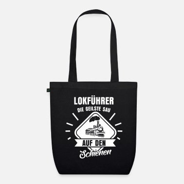 Light Rail Train driver passenger - Organic Tote Bag