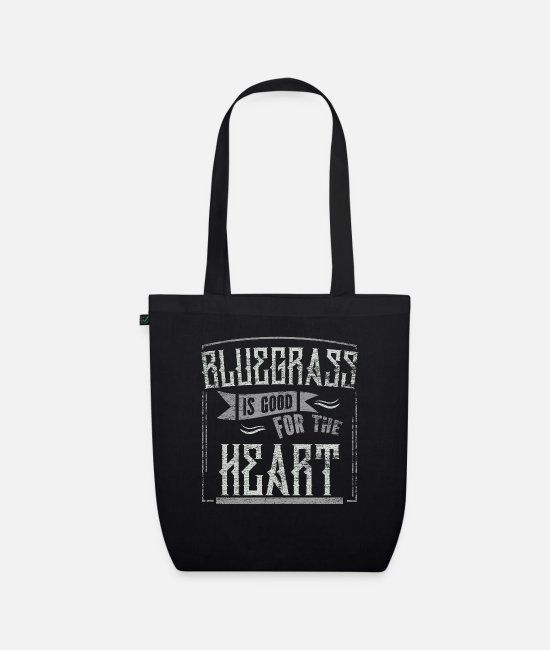 Music Bags & Backpacks - Bluegrass - Organic Tote Bag black