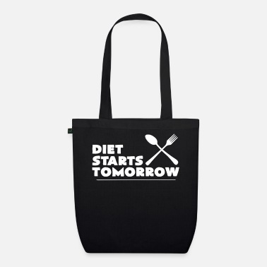 Diet diet - Organic Tote Bag