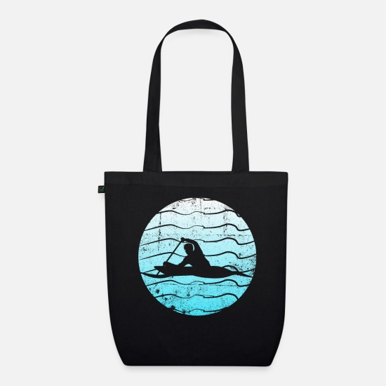 Rowing Bags & Backpacks - Rowing - design - Organic Tote Bag black