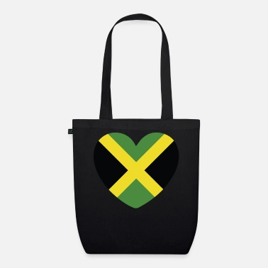 Jamaican Creole COOL JAMAICA FLAG DESIGN - Organic Tote Bag