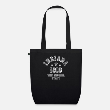 State Of Indiana Indiana United States - Organic Tote Bag