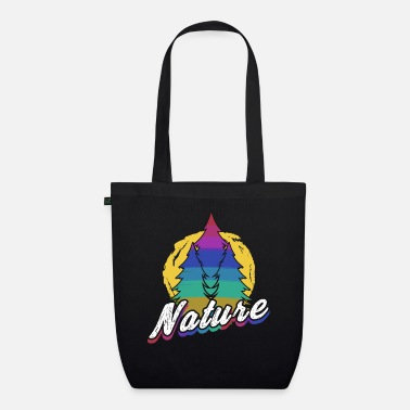 Flora Environment nature forest green colored flora fauna - Organic Tote Bag