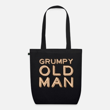 Laugh Underwear Grumpy old man - Organic Tote Bag