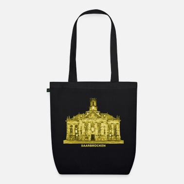State Capital Saarbrücken State capital Saarland Ludwigskirch - Organic Tote Bag