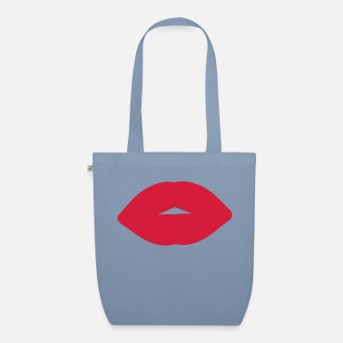 Open Underwear red_lips2 - Organic Tote Bag