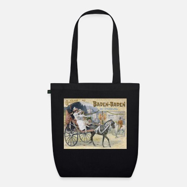 Greetings from Baden Baden - Organic Tote Bag