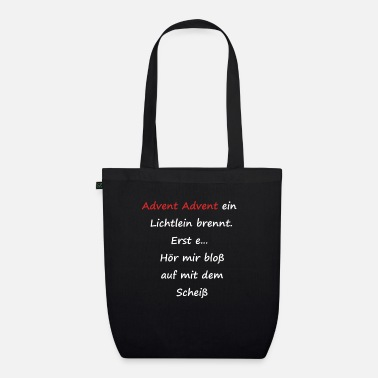 Advent Advent Advent - Organic Tote Bag