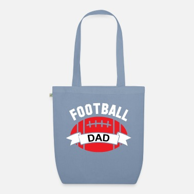 Super Bowl Football Dad 01 - Organic Tote Bag