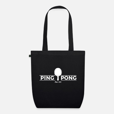 Table Tennis Paddle Table tennis paddle - Organic Tote Bag