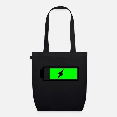 Rechargeable Battery recharging - Organic Tote Bag