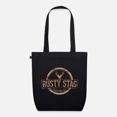 Tote bag wild heart rust